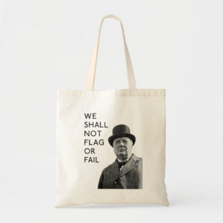 Winston Churchill Tote Bag