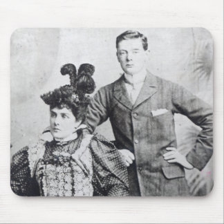 Winston Churchill with his mother 2 Mouse Pad