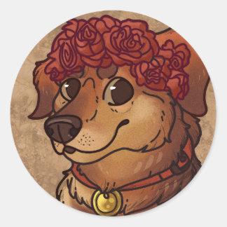 Winston Classic Round Sticker
