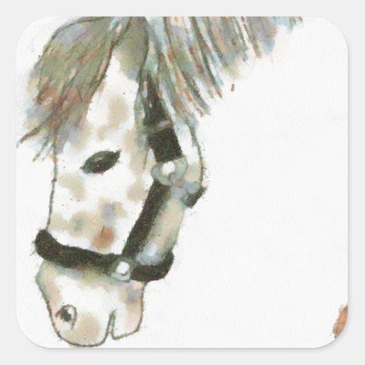 Winston el caballo pegatina