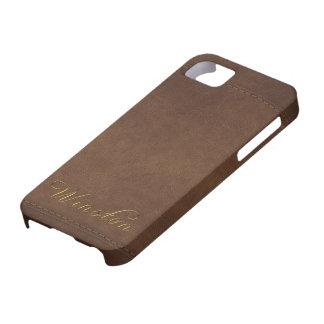 WINSTON Leather-look Customised Phone Case