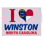 Winston, North Carolina Card