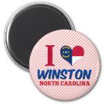 Winston, North Carolina Refrigerator Magnet