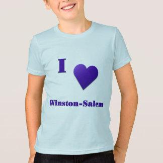 Winston-Salem -- Azul de medianoche Playera