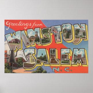 Winston-Salem, Carolina del Norte Posters