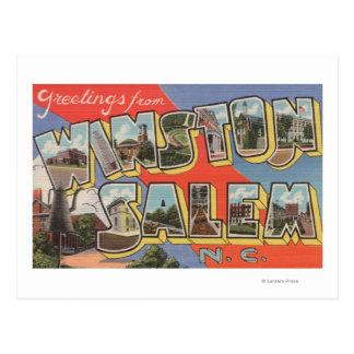 Winston-Salem, Carolina del Norte Tarjetas Postales
