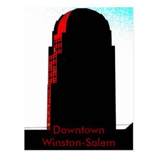 Winston-Salem céntrica, NC Postal