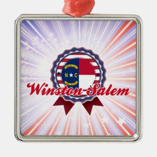 Winston-Salem NC Christmas Tree Ornament