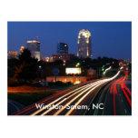 Winston-Salem, NC Postcard