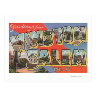 Winston-Salem, North Carolina Postcard
