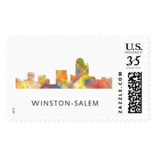WINSTON - SALEM, NTH CAROLINA SKYLINE - POSTAGE