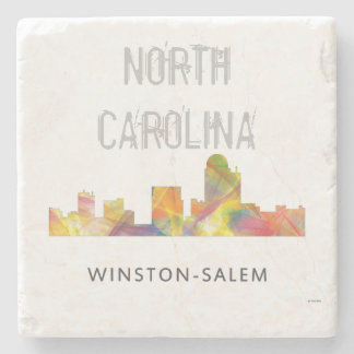 WINSTON - SALEM, NTH CAROLINA SKYLINE - STONE COASTER