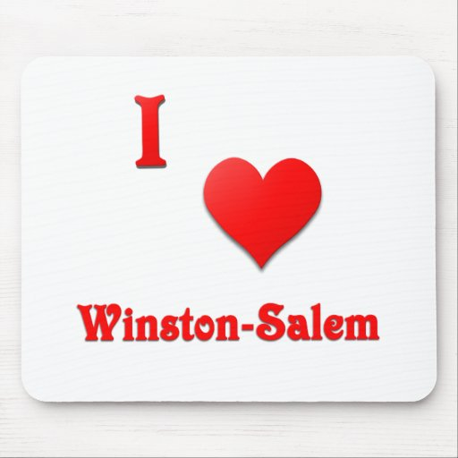Winston-Salem -- Rojo Tapete De Ratones
