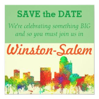 WINSTON-SALEM SKYLINE SG - invitations