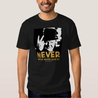 Winston Sez 'Never!' 2 T-shirts
