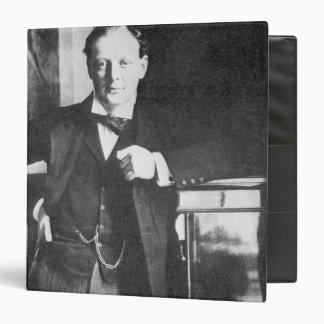 Winston Spencer Churchill in 1904 3 Ring Binder