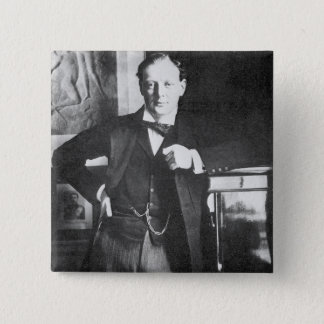 Winston Spencer Churchill in 1904 Button