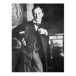 Winston Spencer Churchill in 1904 Postcard