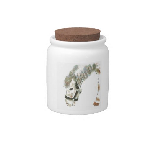 Winston the Horse Candy Jars