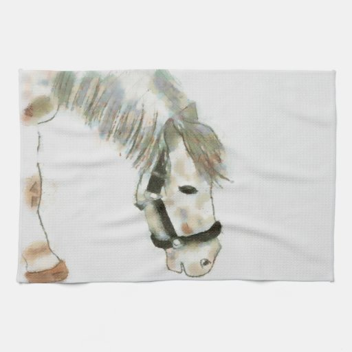 Winston the Horse Kitchen Towels