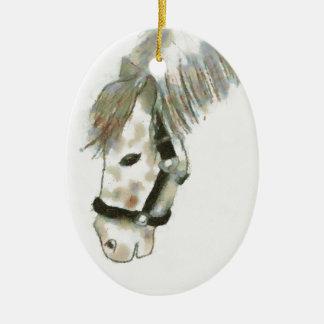 Winston the Horse Christmas Ornament