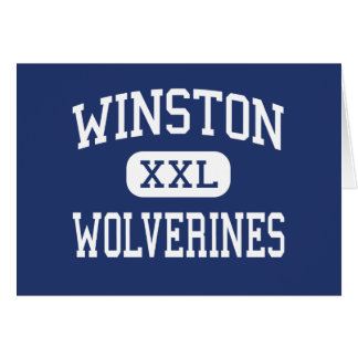 Winston Wolverines Middle Baltimore Maryland Card