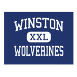 Winston Wolverines Middle Baltimore Maryland Postcard