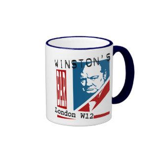 Winston's Bar Ringer Coffee Mug
