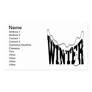 Winter 1 business card