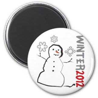Winter 2012 fridge magnet