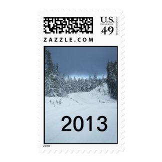 Winter 2013 Christmas Stamp