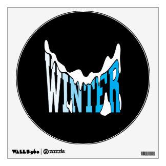 Winter 2 wall stickers