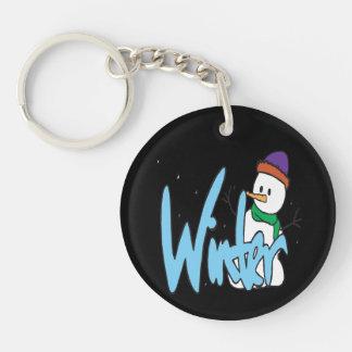 Winter 3 keychain