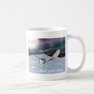 Winter 3D owl mug