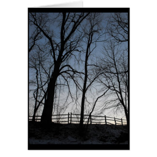 Winter ~ 4 card