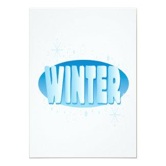 Winter 4 card