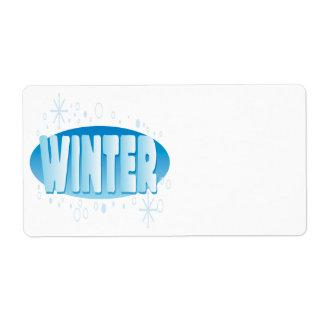 Winter 4 label