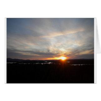 Winter Abenaki Tower Sunset Cards