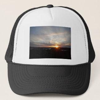 Winter Abenaki Tower Sunset Trucker Hat