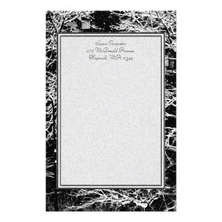 'Winter Abstract' Stationery