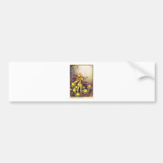 Winter Aconite Fairy Bumper Sticker