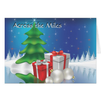 Winter Across the Miles Card