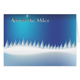 Winter Across the Miles Cards