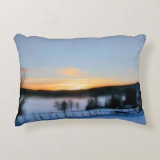 Winter Afternoon Accent Pillow