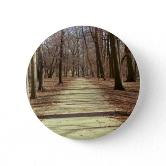 Winter Afternoon Button button