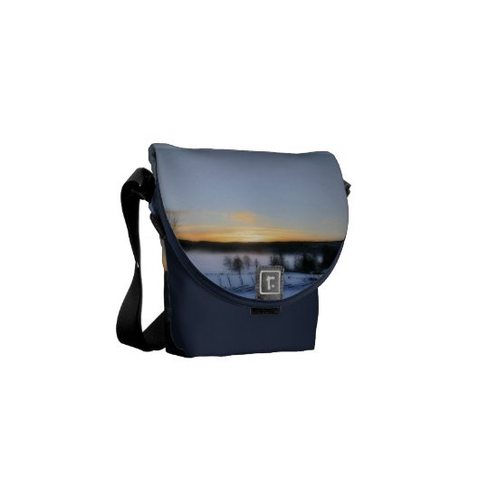 Winter Afternoon Courier Bag