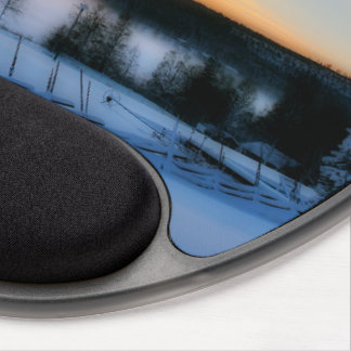 Winter Afternoon Gel Mouse Pad