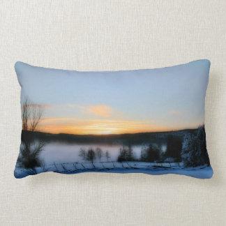 Winter Afternoon Lumbar Pillow