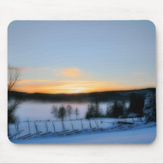 Winter Afternoon Mouse Pad