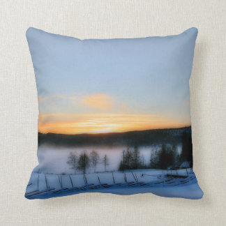Winter Afternoon Pillow